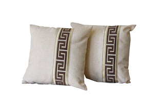 Kit Cushion Labyrinth Design Throw Pillow Set of 2 FREE 4-Day Shipping                                                                                                       FREE 4-Day Shipping