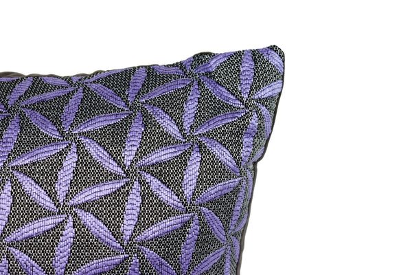 Kit Cushion Spiral 4 Colors Set of 2 PURPLE/Throw Pillow  FREE 4-Day Shipping
