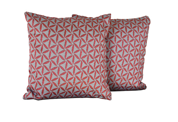 Kit Cushion Spiral 4 Colors Set of 2 Throw Pillow    FREE 4-Day Shipping
