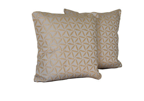 Kit Cushion Spiral 4 Colors Set of 2 GOLD/Throw Pillow  FREE 4-Day Shipping