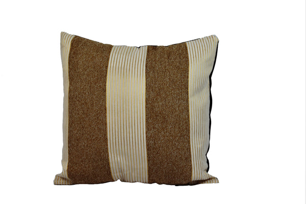 Kit Cushion 2 Tones BROWN /Throw Pillow Set of 2 FREE 4-Day Shipping