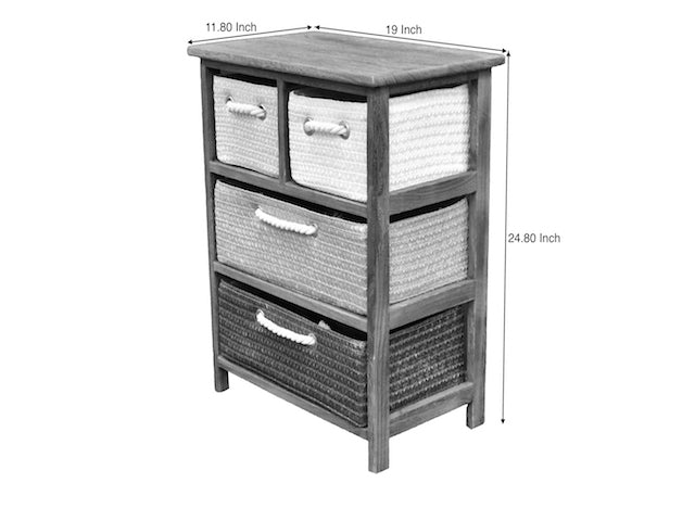 Cabinet Ibiza 4 Drawers FREE 4-Day Shipping