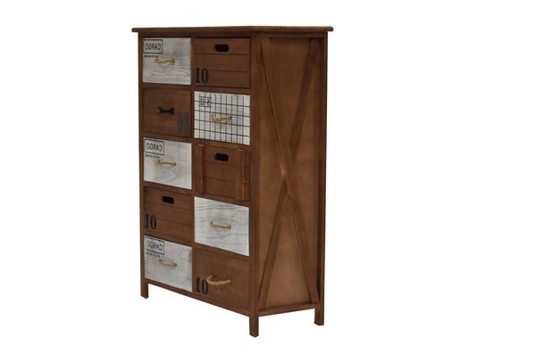 Cabinet Perth 10 Drawers FREE 4-Day Shipping
