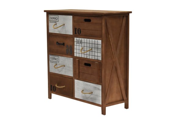 Cabinet Perth 8 Drawers FREE 4-Day Shipping
