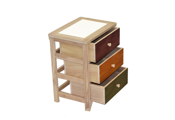 Cabinet Oslo 3 Drawers FREE 4-Day Shipping