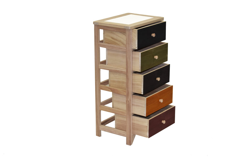 Cabinet Oslo 5 Drawers FREE 4-Day Shipping