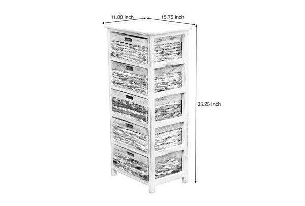 Cabinet Oxford 5 Drawers FREE 4-Day Shipping