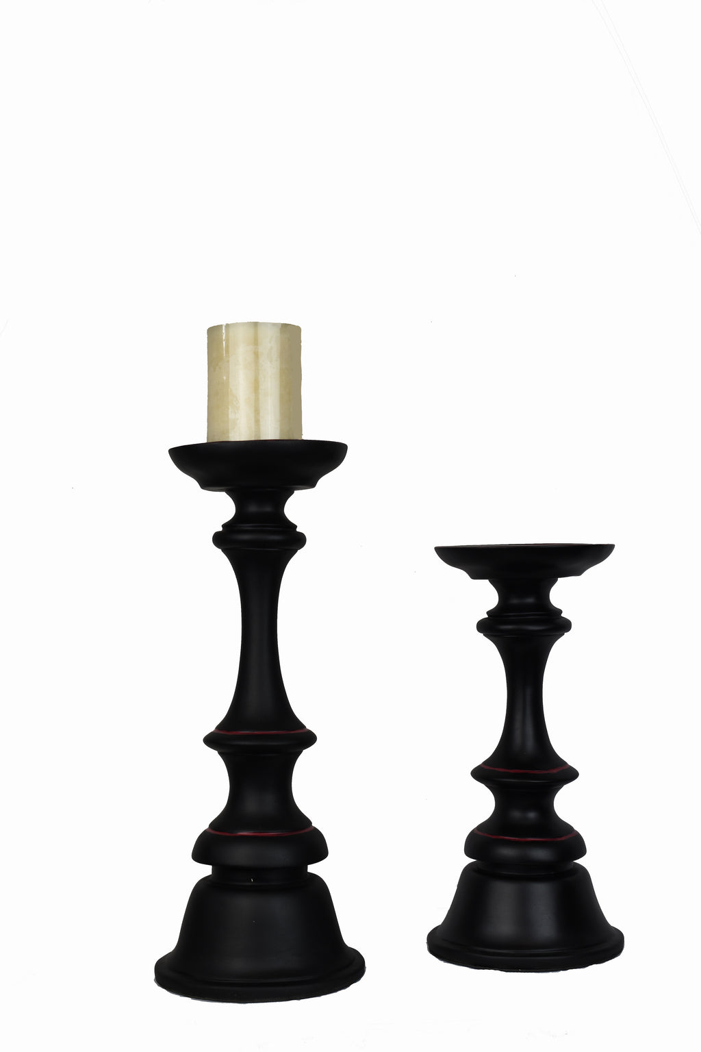Deco Candlestick Chess Set of 2
