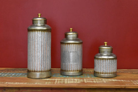 Deco Jars Set Of 3