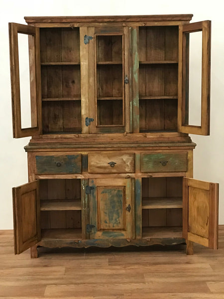 kitchen hutch, sideboard buffet, furniture, reclaimed bookshelves, hutch,