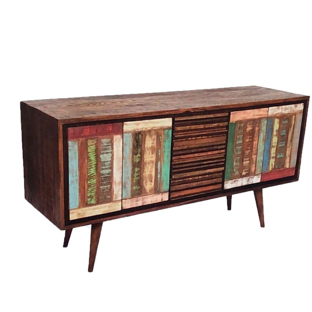 4 Door Buffet Sideboard