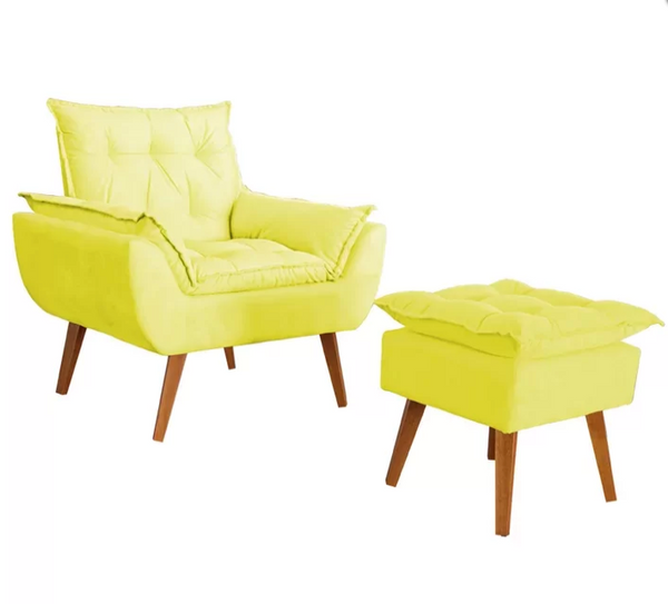 armchair, patio furniture, ottoman, chair ottoman, armchair set,