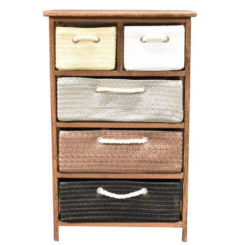 Cabinet Ibiza 5 Drawers  FREE 4-Day Shipping