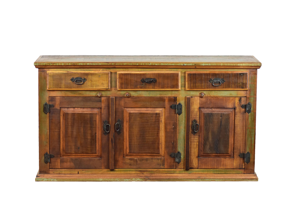 reclaimed wood sideboard, rustic sideboard, reclaimed wood buffet, buffet, cabinet, reclaimed wood cabinet, cupboard, dining room furniture, living room furniture, country, rustic furniture, peroba rosa wood, peroba wood,