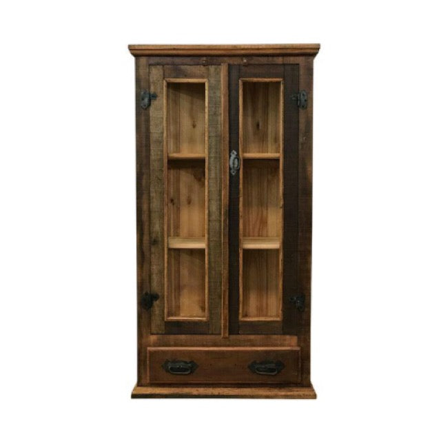 Display cabinet, armoire, Bookcase, reclaimed wood, peroba wood, peroba, eco-friendly, handmade, wood furniture