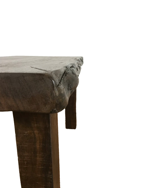 live edge table, live edge dining table, table, patio furniture, rustic furniture,