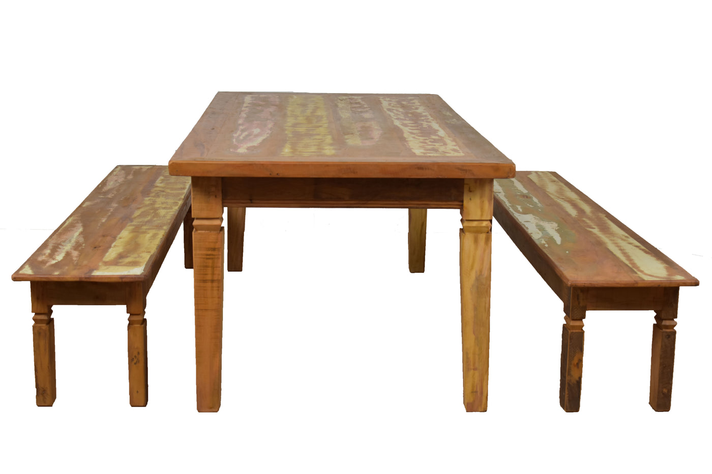 Reclaimed Wood Dining Table Save The Planet Furniture - Reclaimed hardwood dining table