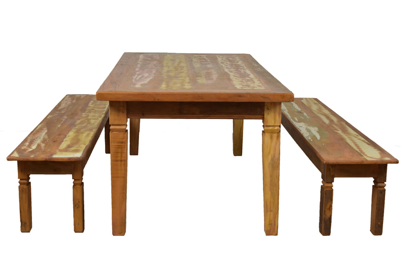 reclaimed wood dining table, reclaimed wood table, dining table set,