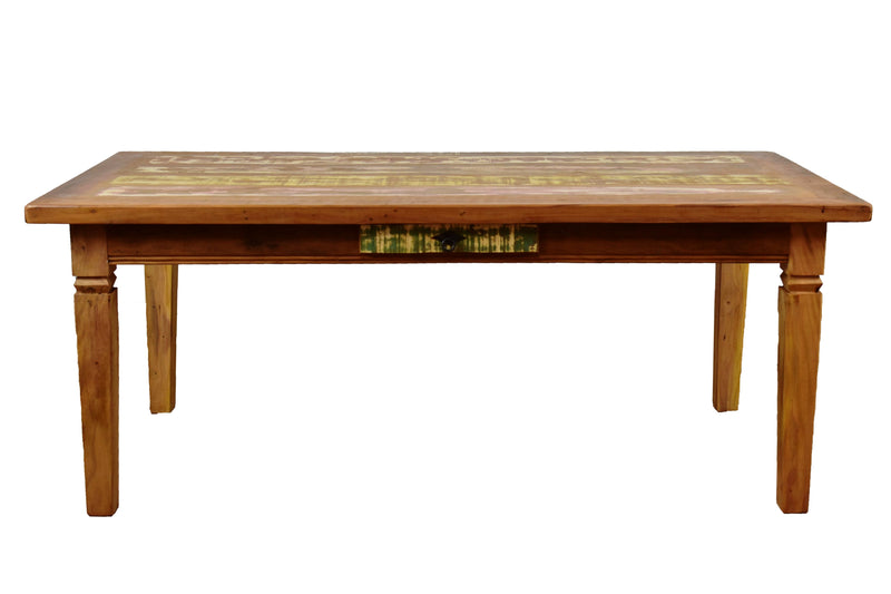 "Dining Table ""Chinese Feet"" - 79"" Long"