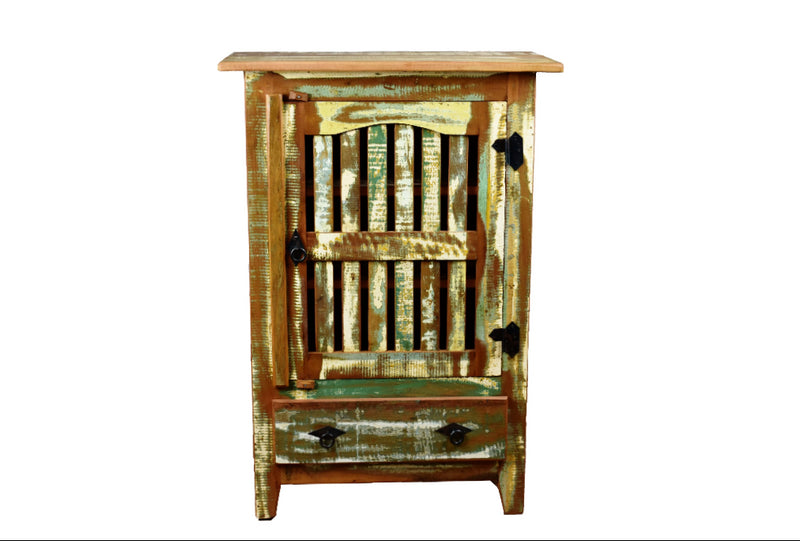 Small Distressed Cabinet