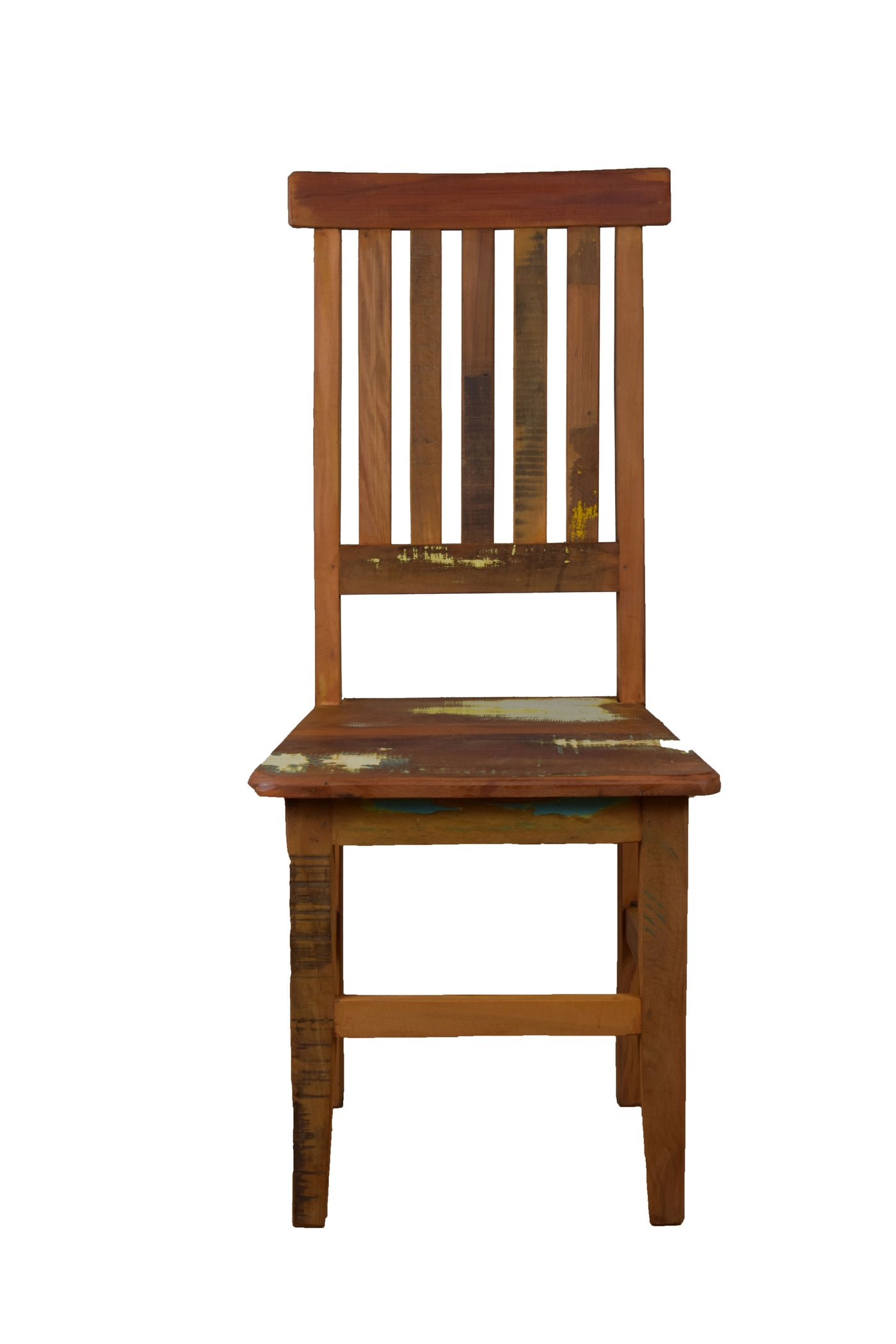 Lath Reclaimed Wood Dining Chair Save The Planet Furniture - Dining-room-chair-exterior