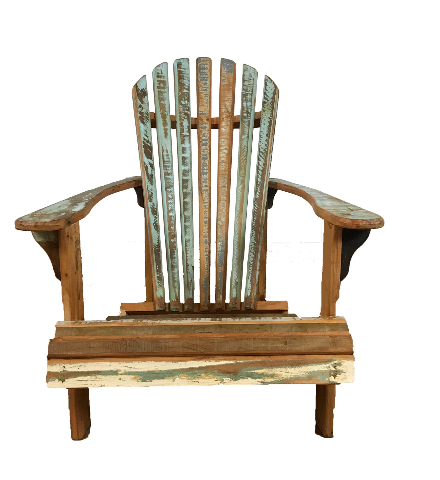 Reclaimed Wood Adirondack Chair Save The Planet Furniture