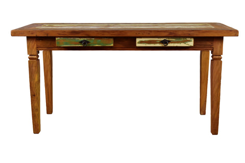 reclaimed wood console, reclaimed wood console table, reclaimed wood desk,