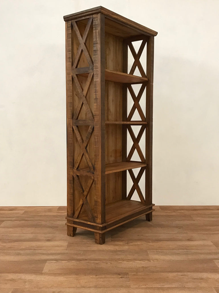 Reclaimed Wood Bookcase Save The Planet Furniture