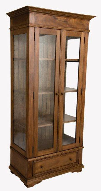 Display / China Cabinet -Brown