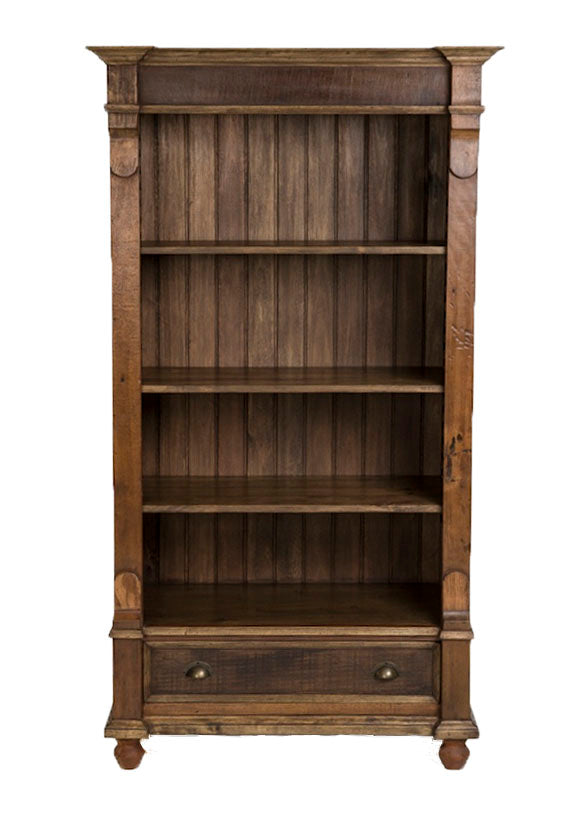 reclaimed wood bookcase, home stores furniture, reclaimed bookshelves,