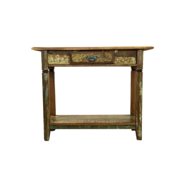 console, console table, solid wood, peroba wood, antique, rustic,