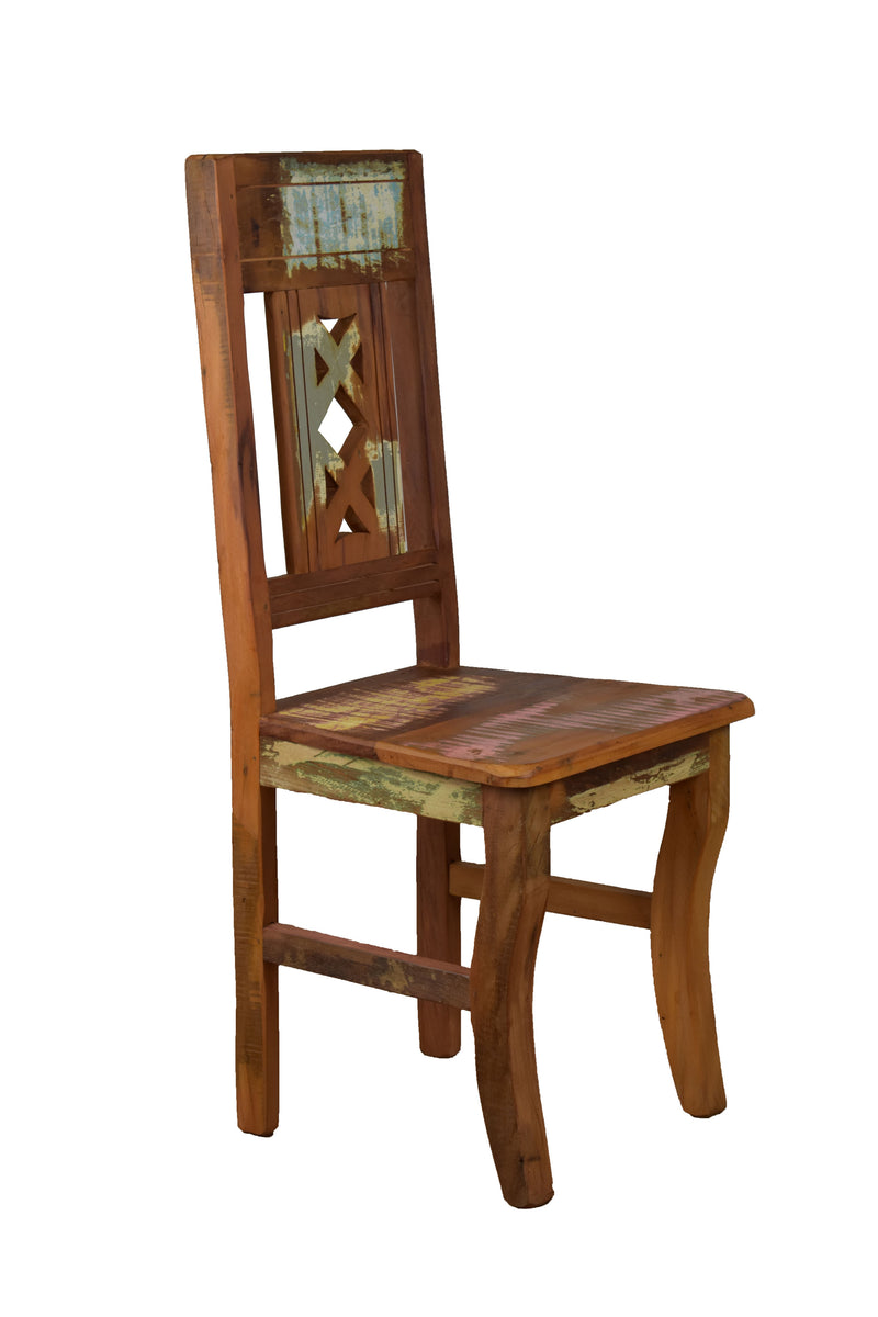 Reclaimed Wood Chair - Set of 2