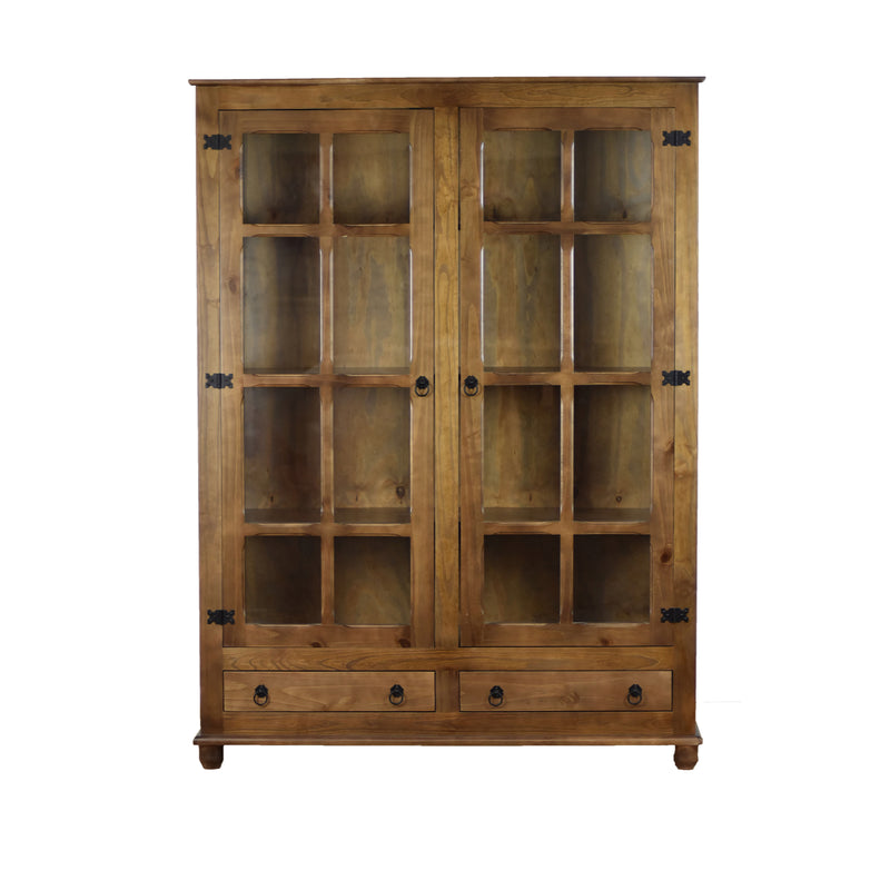Reclaimed Wood Curio China Cabinet