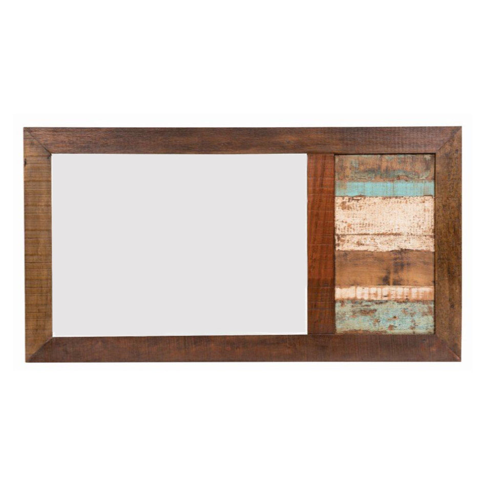 mirror, reclaimed wood, vintage furniture, vintage bathroom mirror,