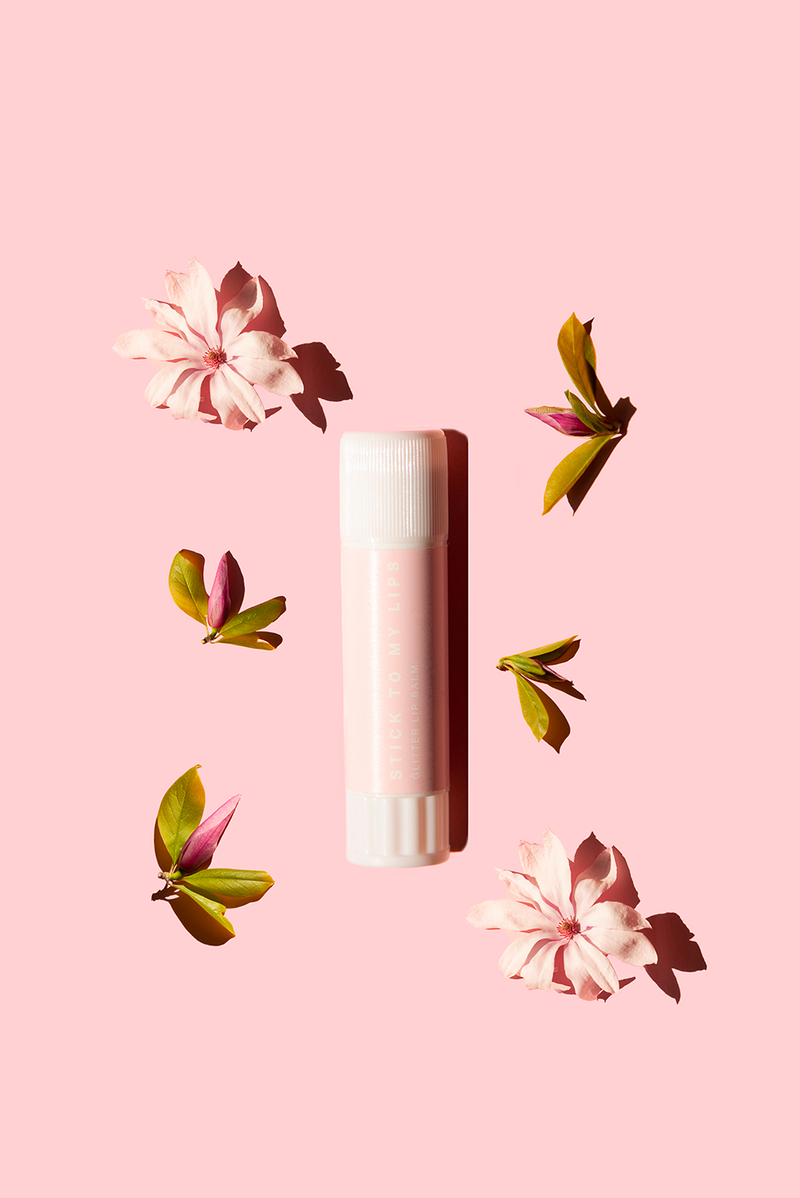 STICK TO MY LIPS shimmer lip balm