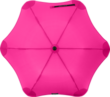 Load image into Gallery viewer, Pink compact umbrella top