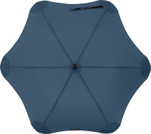 Load image into Gallery viewer, Navy Blue compact umbrella top
