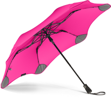 Load image into Gallery viewer, Pink compact umbrella underside