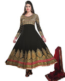 Ethnic Designer Black Color Anarkali Suit