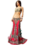 Red And Golden Lehnga