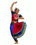 Red & Blue Folk Dance Dress