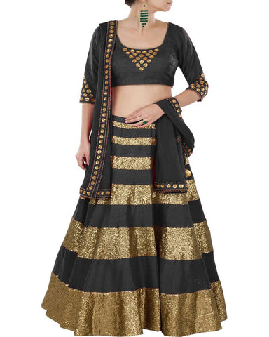 Navratri Special Black Color Chaniya Choli