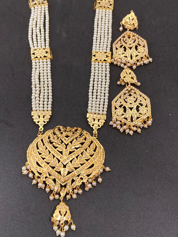 High Quality Gold Color Hand Made Jadaoo Rani Set