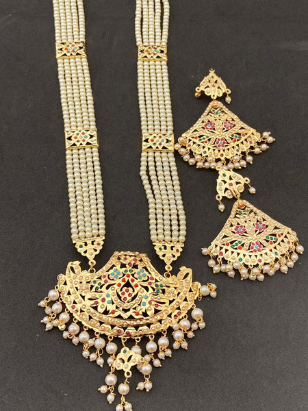 High Quality Multi Color Hand Made Jadaoo Rani Set
