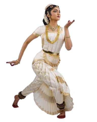 White Classical Dance Dress