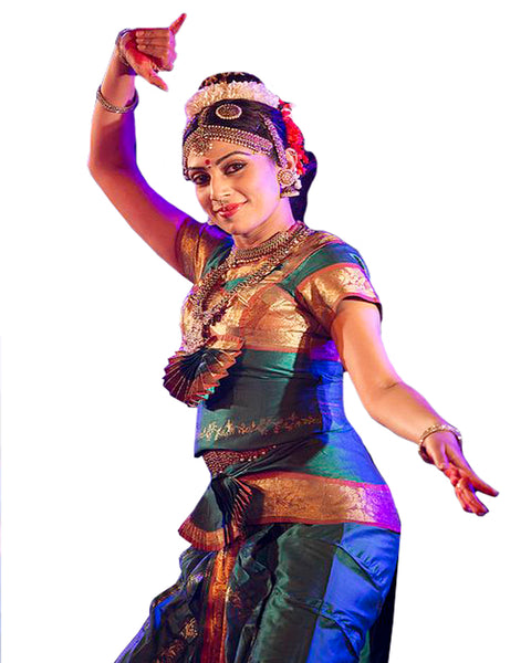 Rama Blue Folk Dance Dress