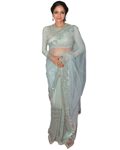 Sri Devi Sky Soft Net Saree