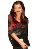 Aishwarya Black Net Shiffley Saree