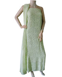 Pista Color Chikankari With Gotta Patti Pure Georgette Palazzo suit