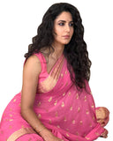 Pink Color Georgette Katrina Sari
